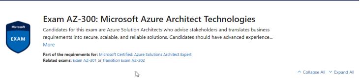 2019-05-03 19_13_39-Exam AZ-300_ Microsoft Azure Architect Technologies